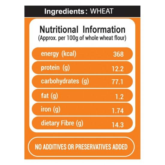 Naga Whole Wheat Atta 10kg