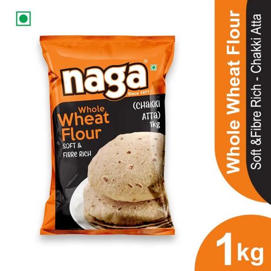 Naga Whole Wheat Atta 1kg