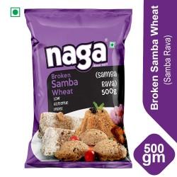 Naga Roasted Samba Rava 500g