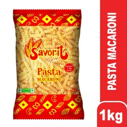 Savorit Popular Macaroni 1kg (Fusilli)
