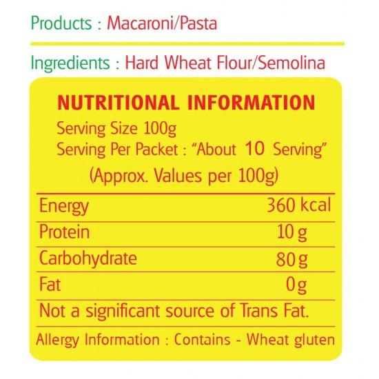Savorit Popular Macaroni 1kg (Elbow)