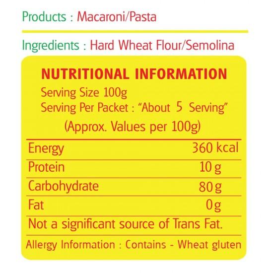Savorit Popular Macaroni 500g (Fusilli)
