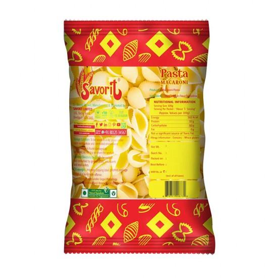 Savorit Popular Macaroni 500g (Shell)