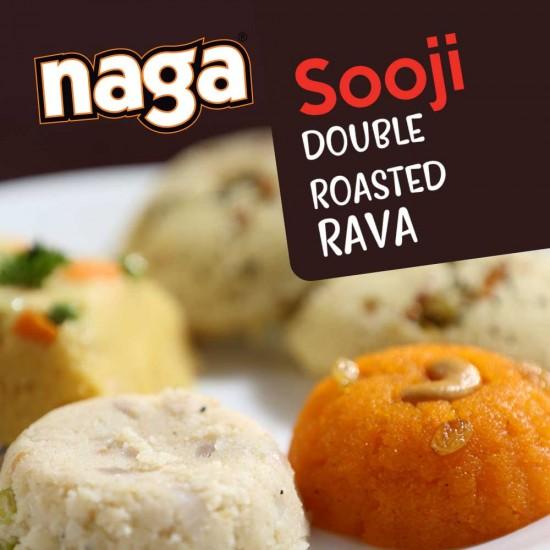 Naga Double Roasted Sooji 1kg